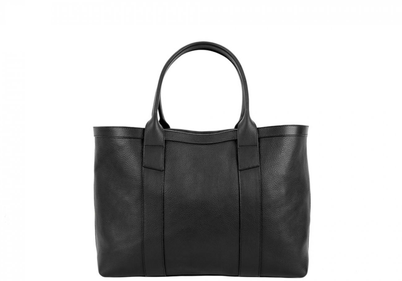 Final Black Small Tote Made In Usa Frank Clegg 1