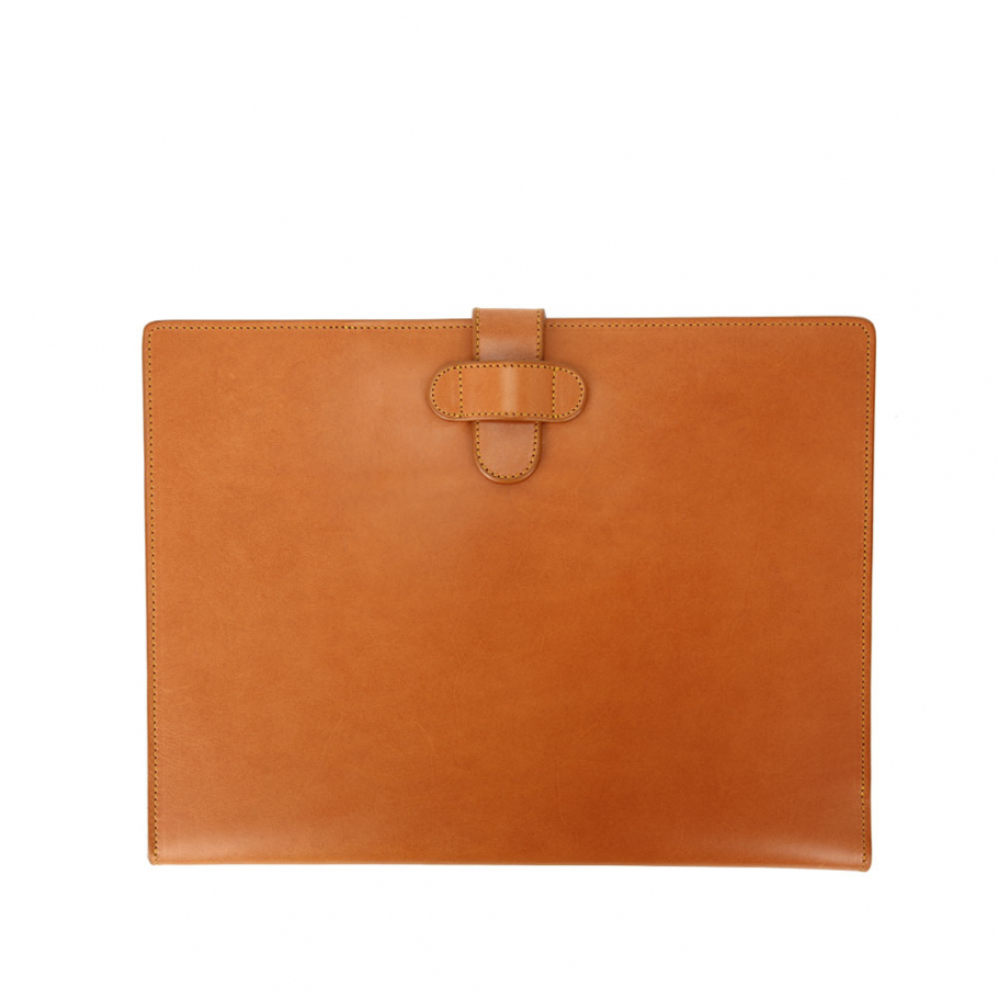 Final Tan Belting Letter Pad Holder Frank Clegg Made In Usa 2 Raw 1