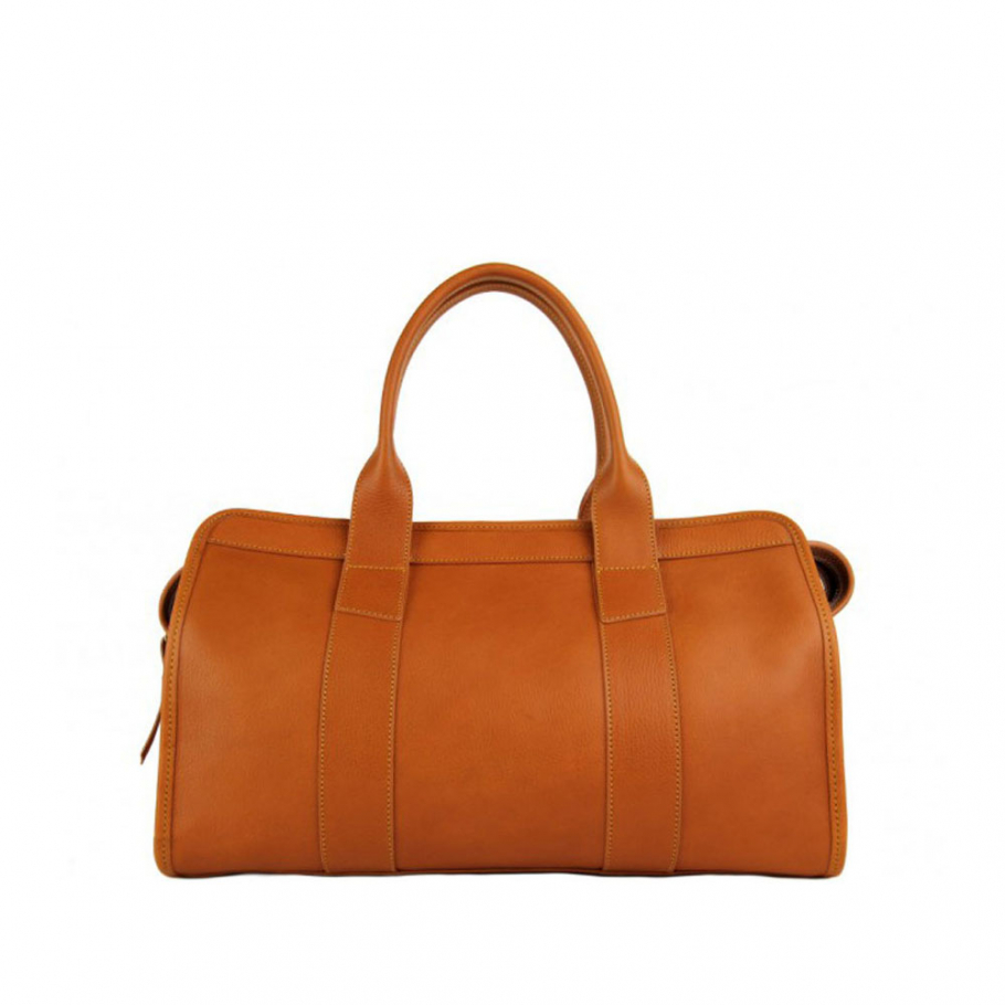 Final Tan Leather Signature Satchel Frank Clegg Made In Usa 1 Raw 2