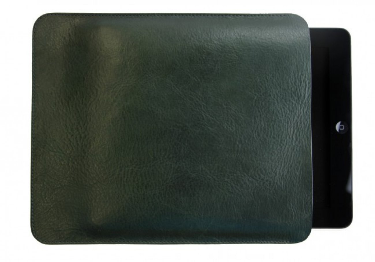 Green  Ipad Sleeve