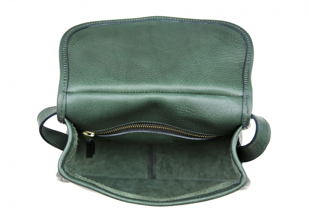 Green Abby Shoulder Bag Frank Clegg Made In Usa 7