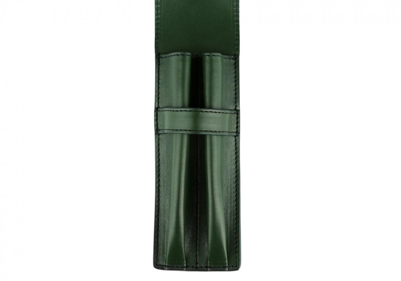 Green Double Pen Case Frank Clegg 3