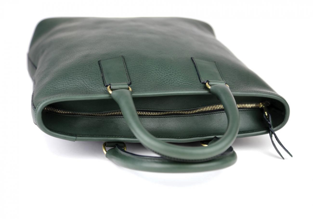 Green Jackie Handbag Frank Clegg Made In Usa 5