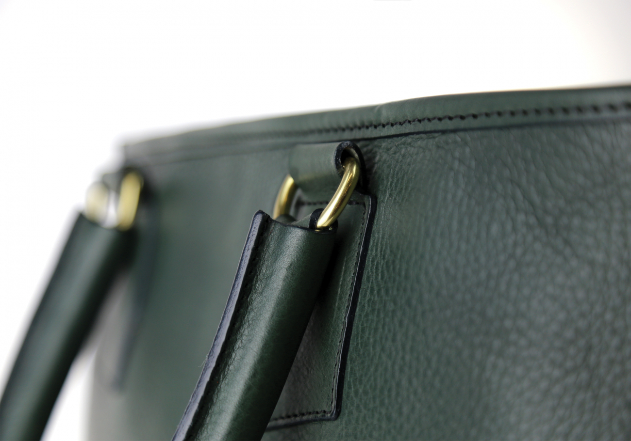 Green Jackie Handbag Frank Clegg Made In Usa 7