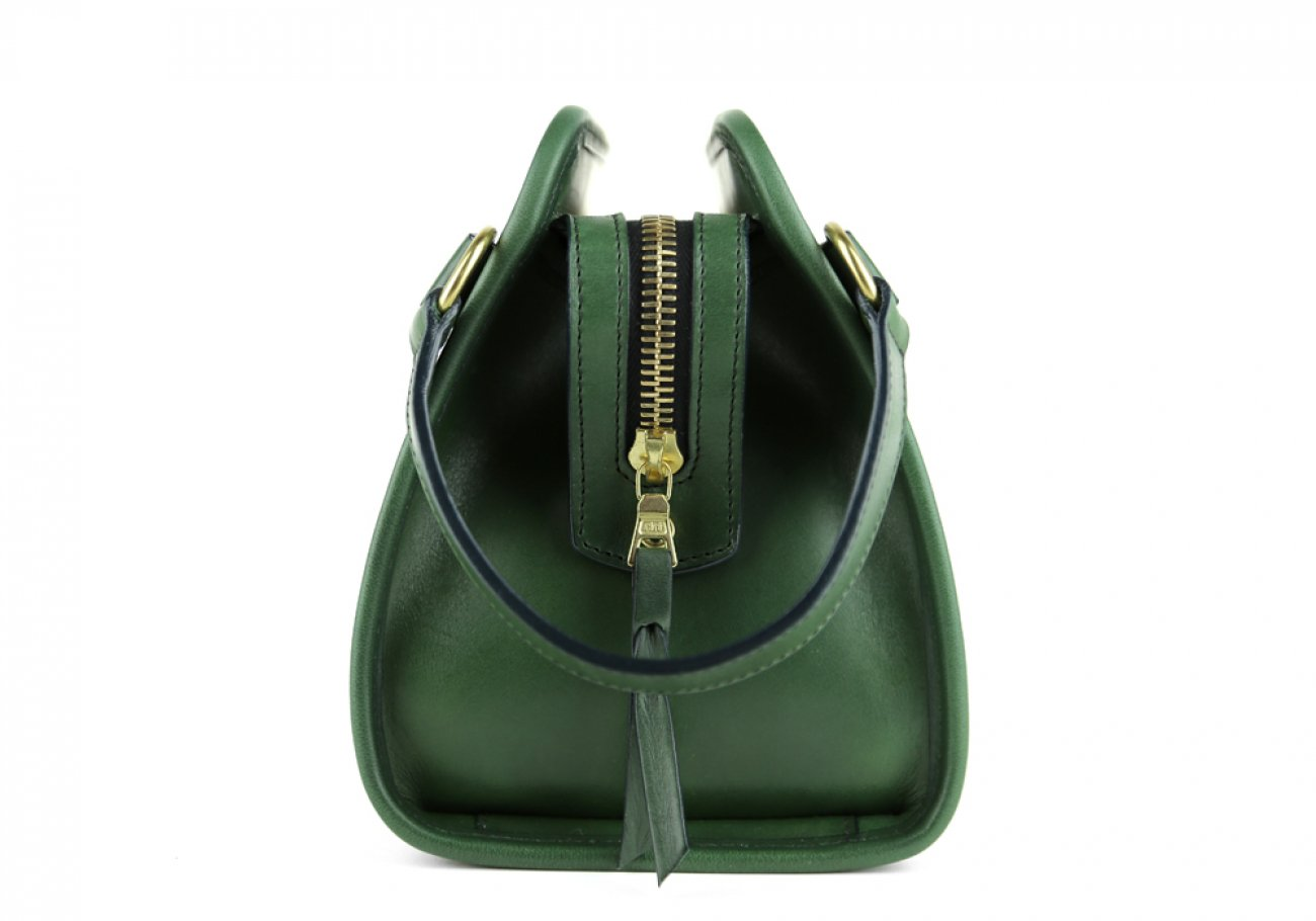 Green Large Belting Leather Travel Kit Frank Clegg Made In Usa 3