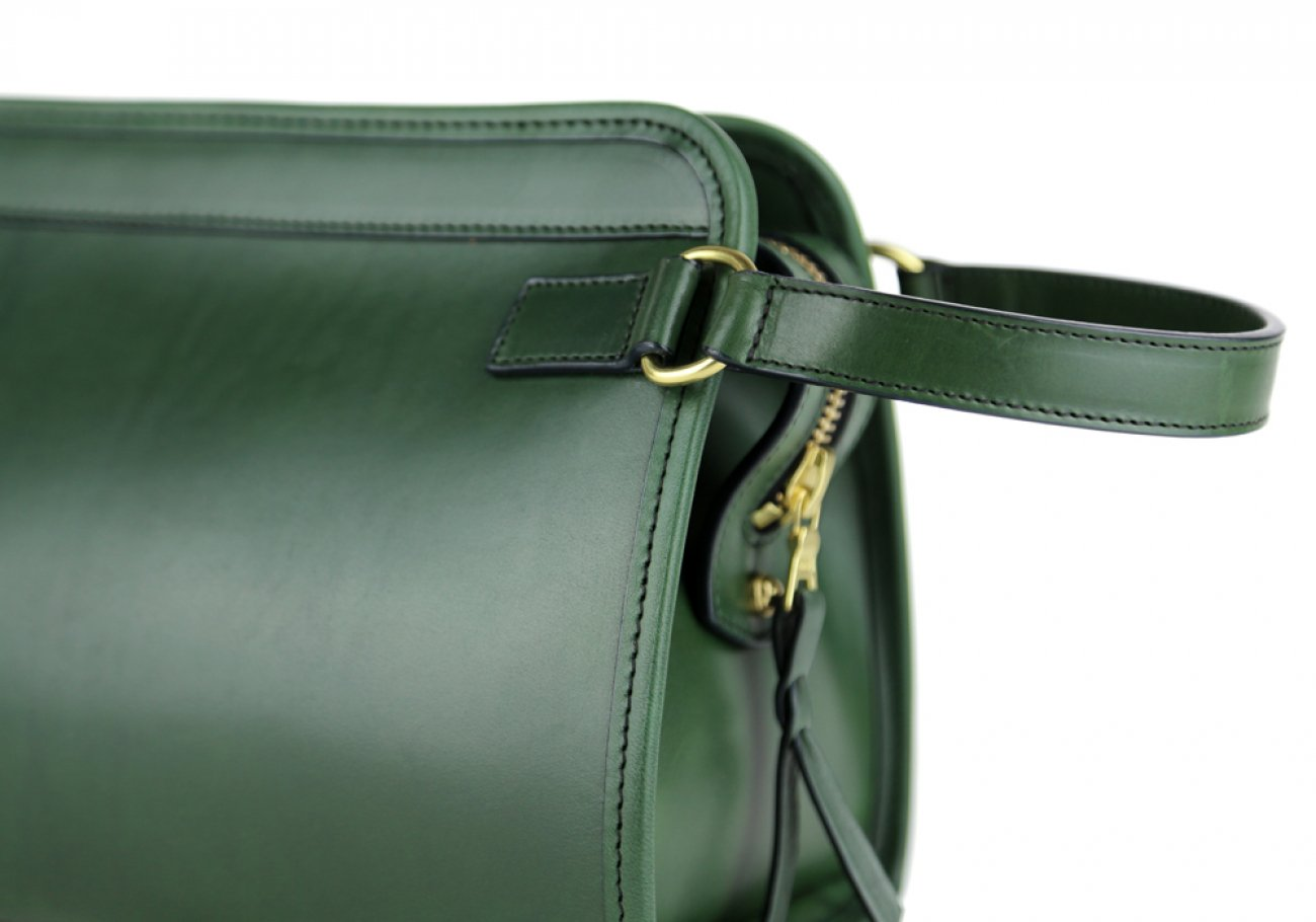 Green Large Belting Leather Travel Kit Frank Clegg Made In Usa 7