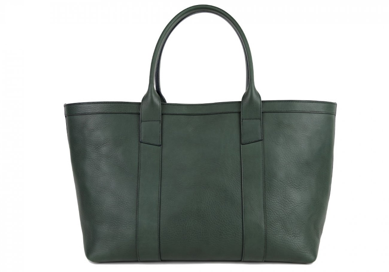 Green Large Working Tote Made In Usa Frank Clegg 1