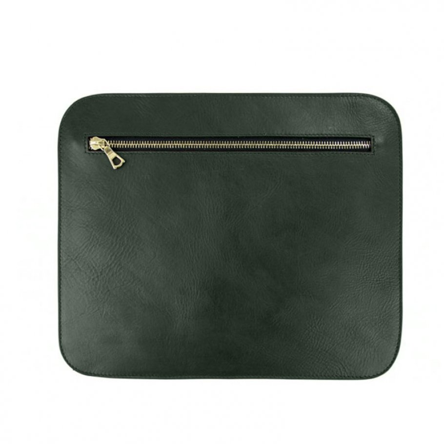 Green Pencilcase Clutches Large1