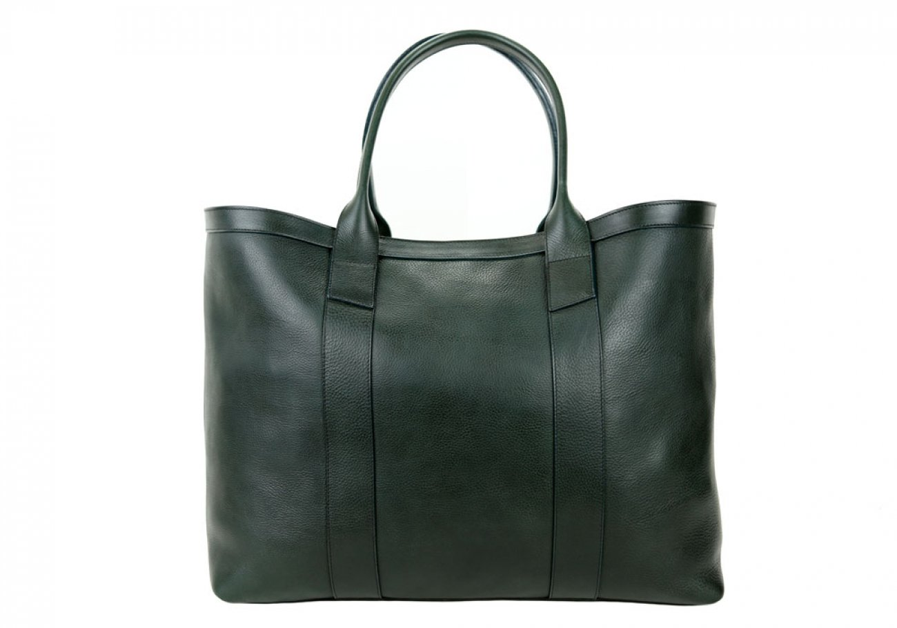 Green Signature Working Tote Made In Usa Frank Clegg 1