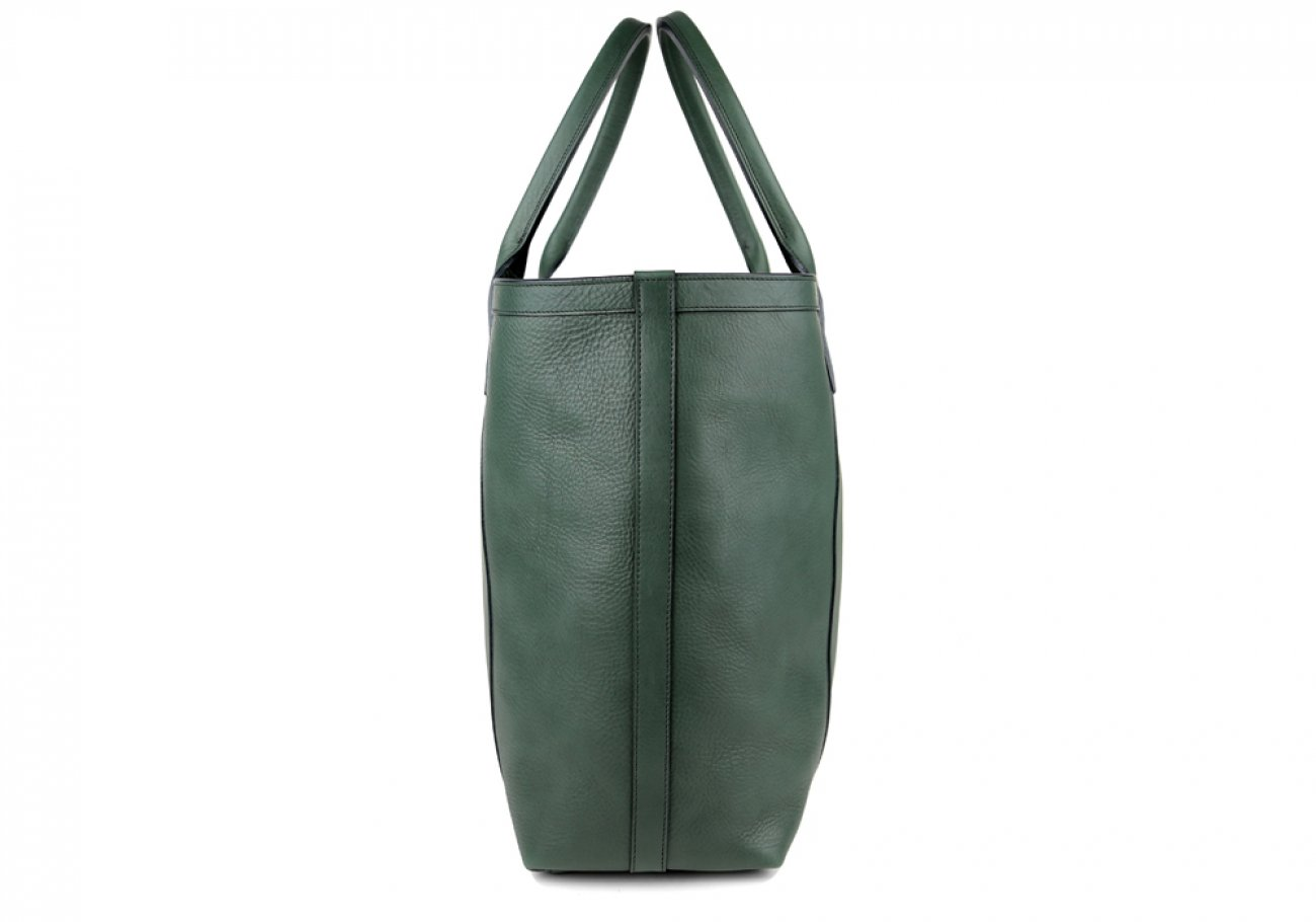 Green Tall Medium Tote Made In Usa Frank Clegg 3