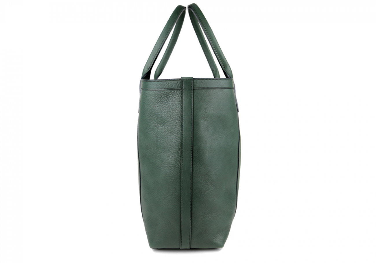 Green Tall Medium Tote Made In Usa Frank Clegg 3 1