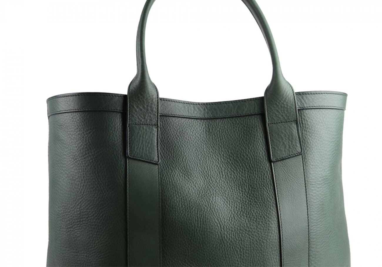 Green Tall Medium Tote Made In Usa Frank Clegg 5 1
