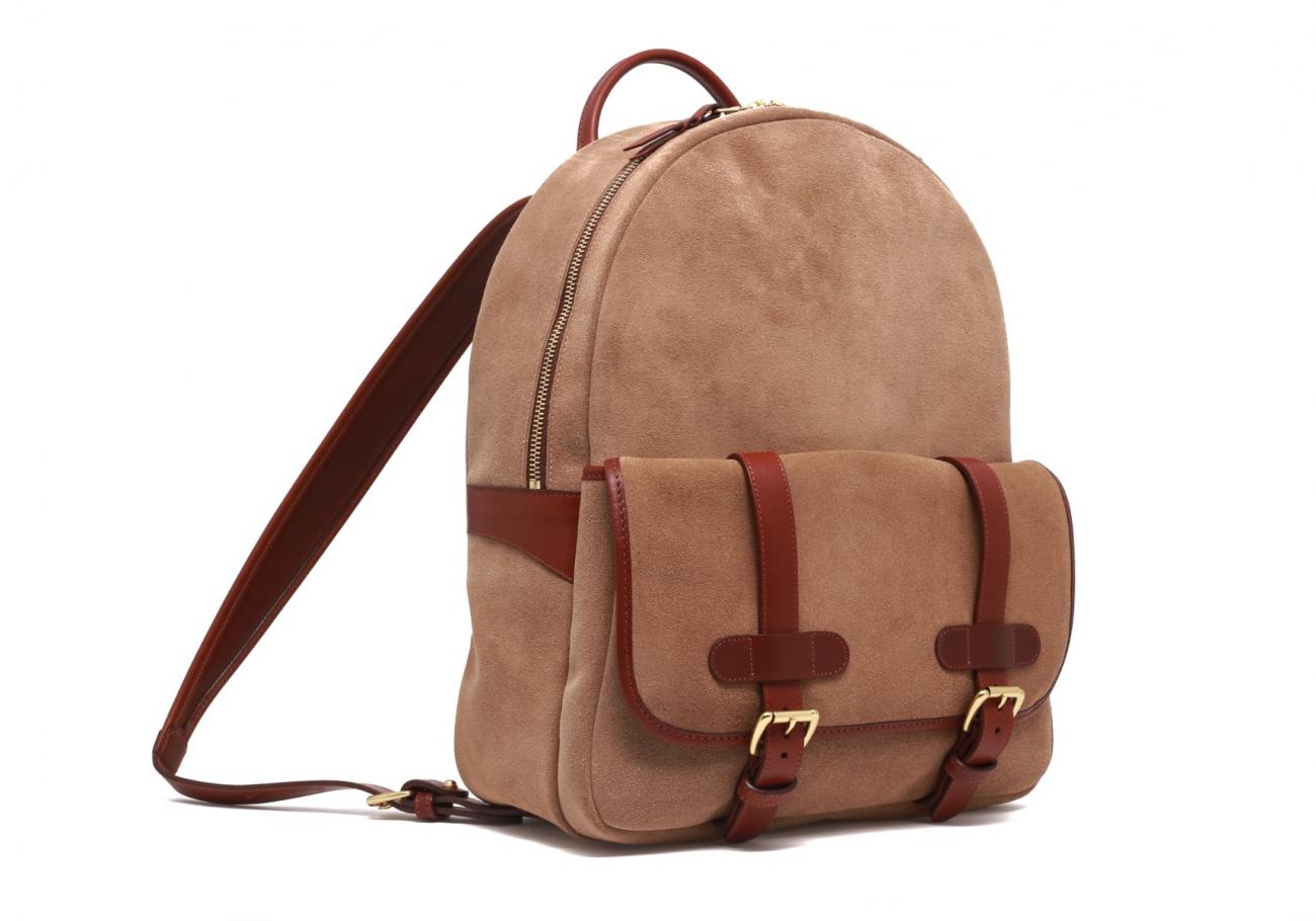 Hampton Backpack Suede1
