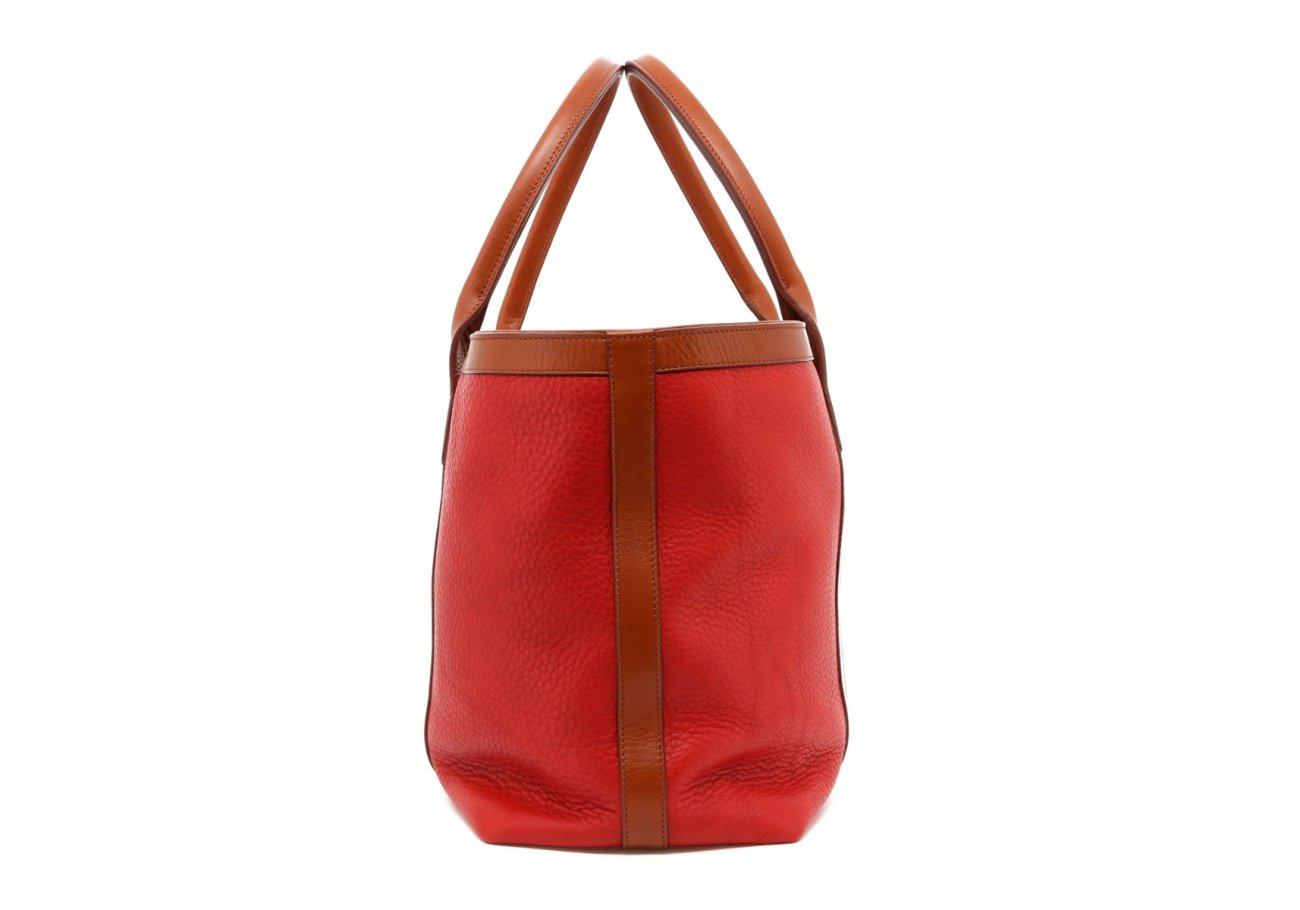 Hibiscus Soft Leather Lg Tote B