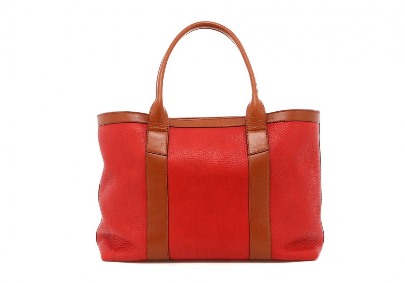 Hibiscus Soft Leather Lg Tote D