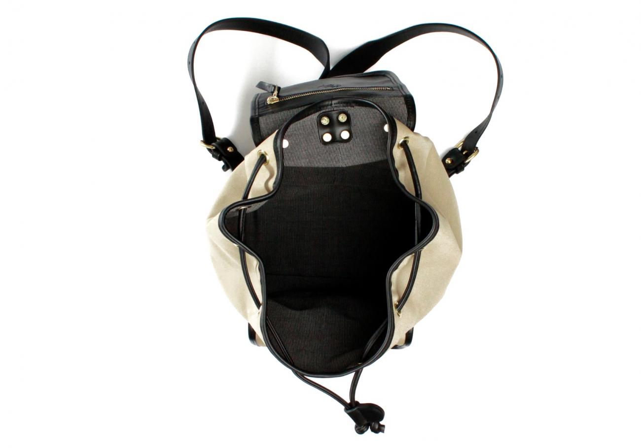 Khaki Twill Classic Backpack F