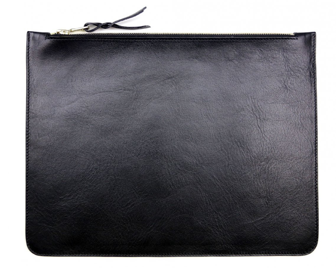 Large Black Zipper Pouch Made In Usa Frank Clegg 1
