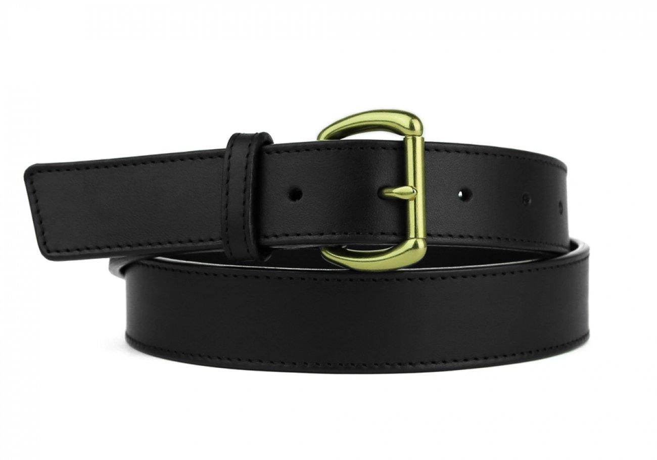 Leather Belt Handmade In Usa Frank Clegg Black