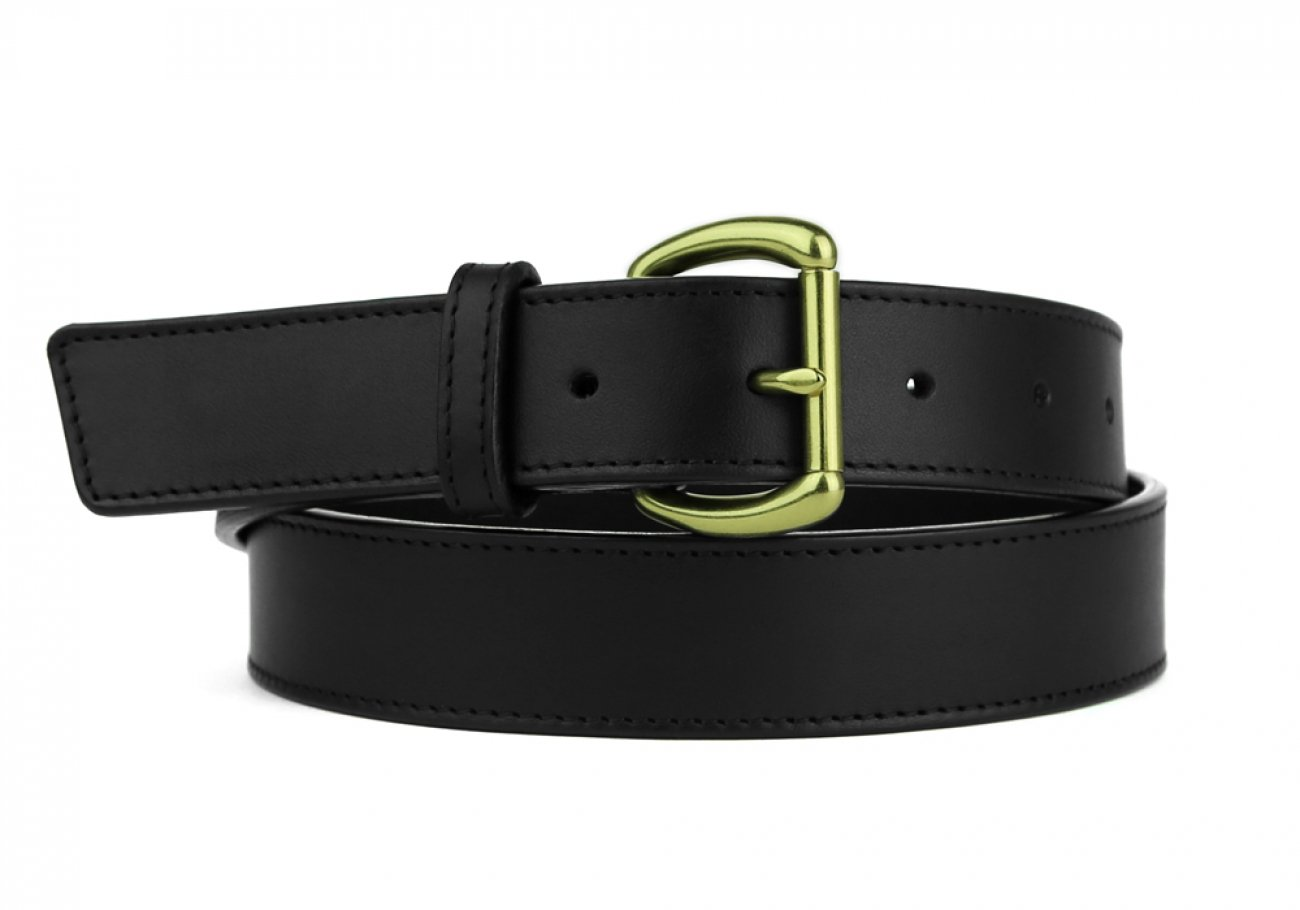 Leather Belt Handmade In Usa Frank Clegg Black 5