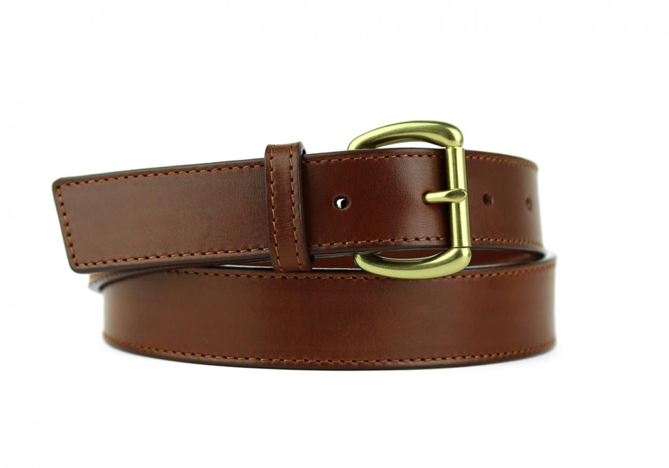 Leather Belt Handmade In Usa Frank Clegg Chestnut 10