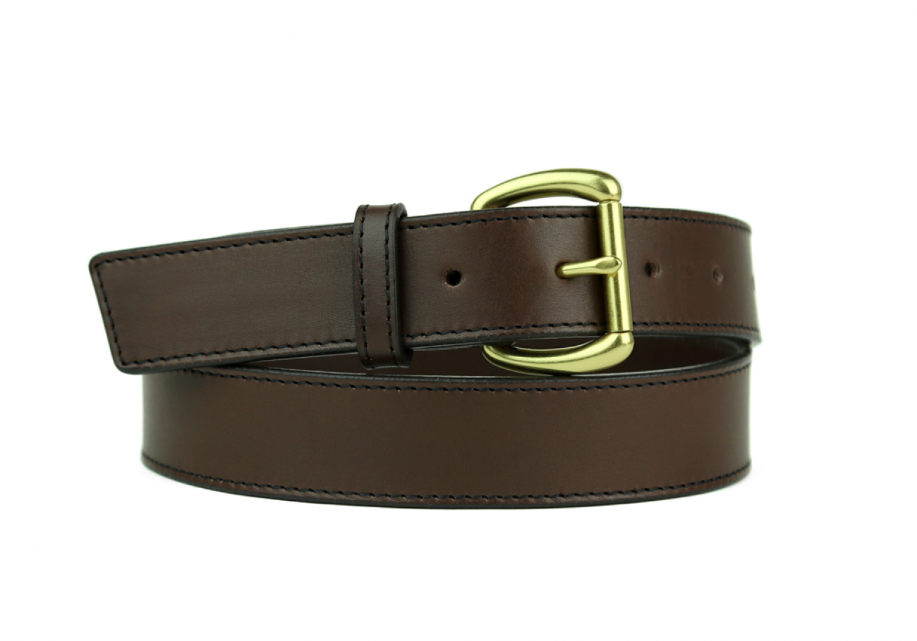 Leather Belt Handmade In Usa Frank Clegg Chocolate