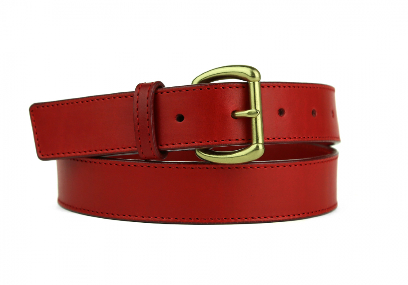 Leather Belt Handmade In Usa Frank Clegg Red 5