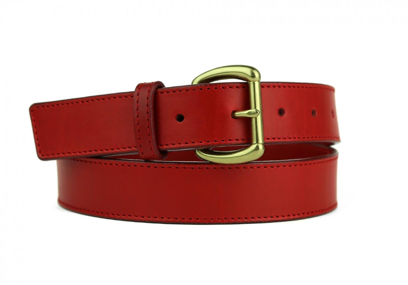 Leather Belt Handmade In Usa Frank Clegg Red 9