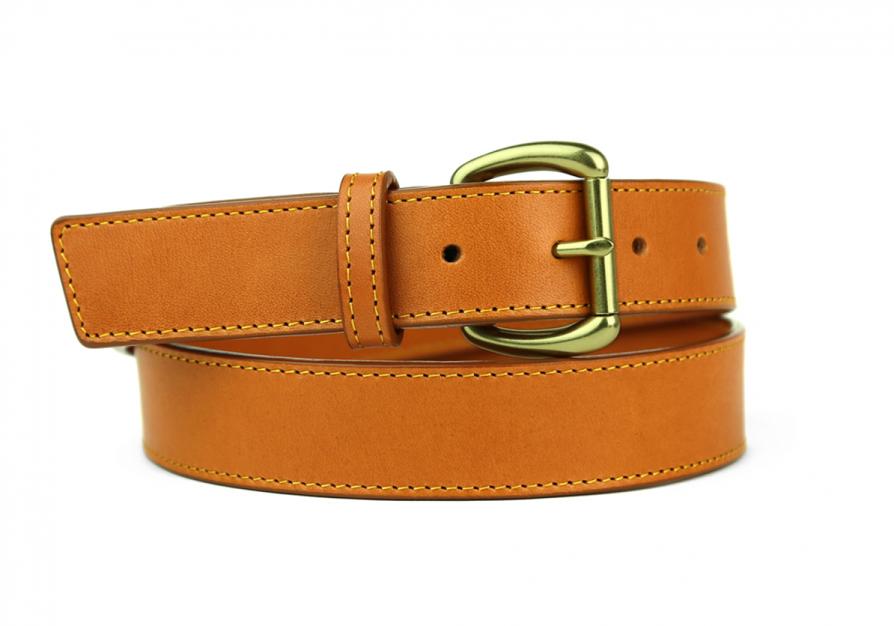 Leather Belt Handmade In Usa Frank Clegg Tan