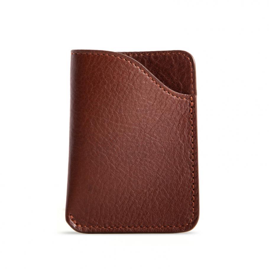 Leather Card Holder 4 Leather Card Wallet Chestnut3
