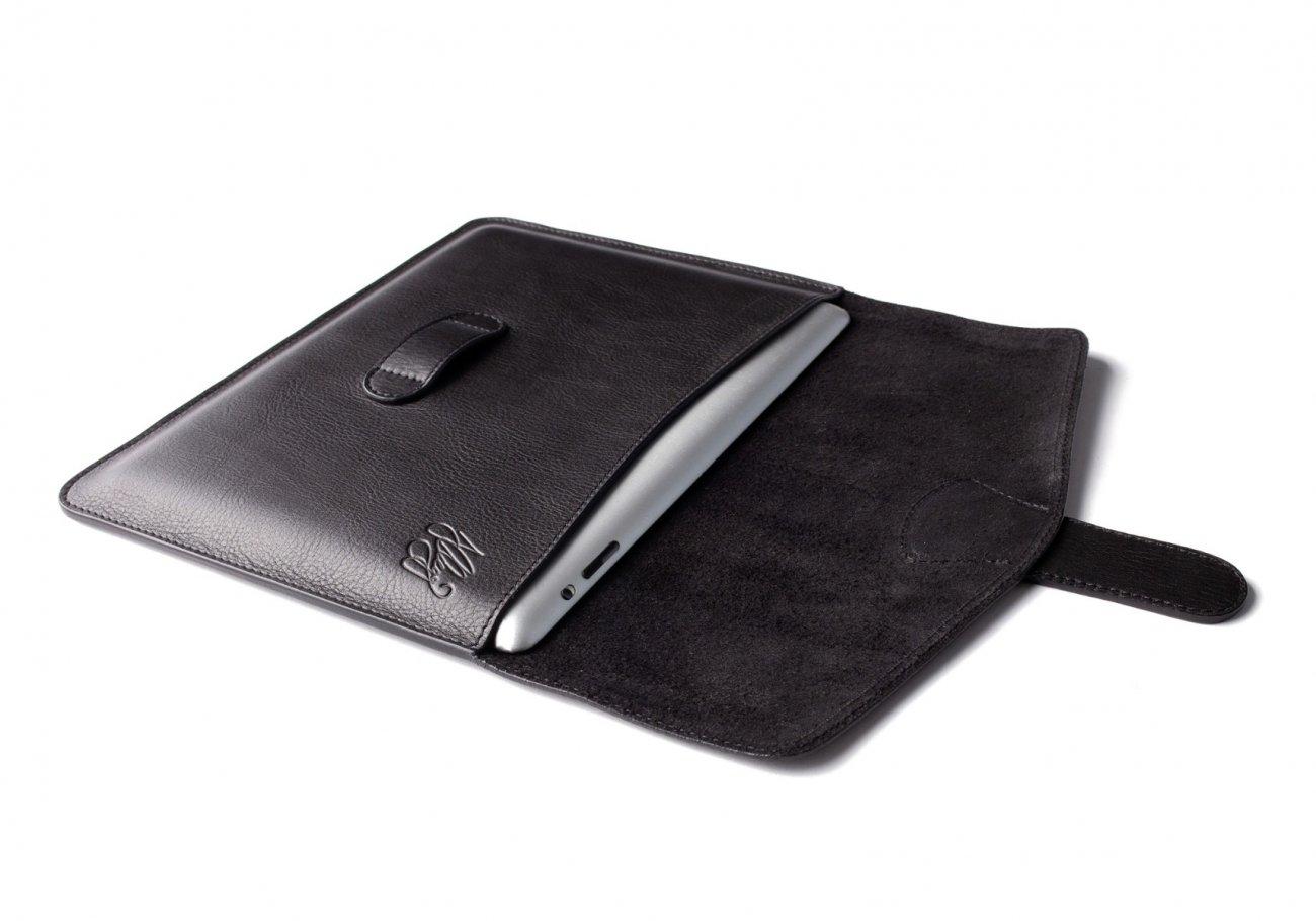 Leather Ipad Case Black 3 1 1