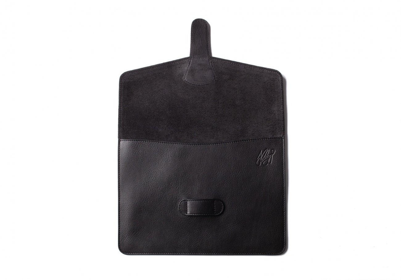 Leather Ipad Case Black 6 1