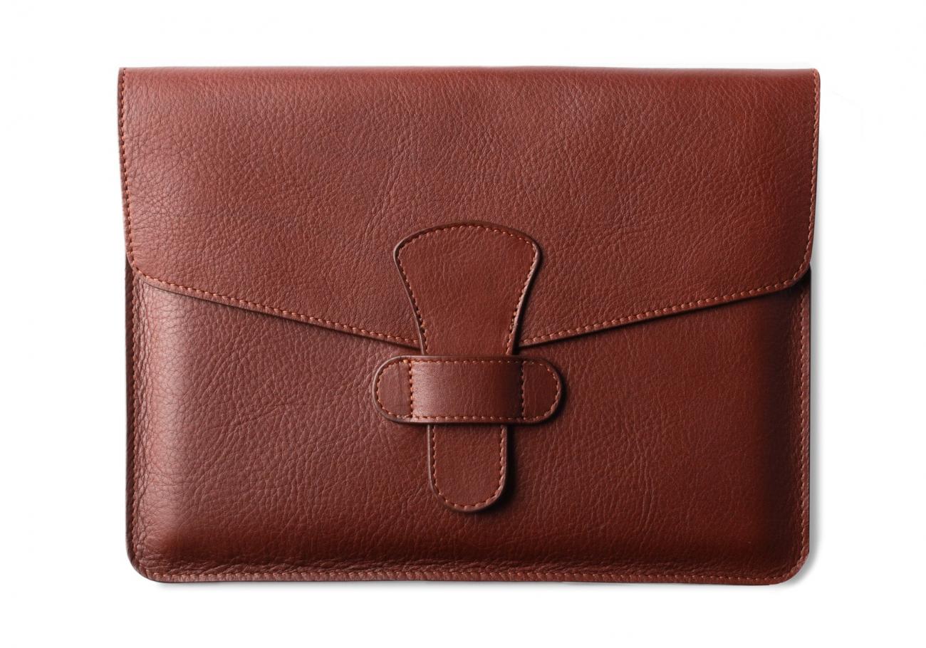 Leather Ipad Case Chestnut 1 1