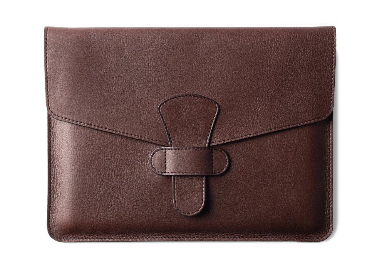 Leather Ipad Case Chocolate 1 1