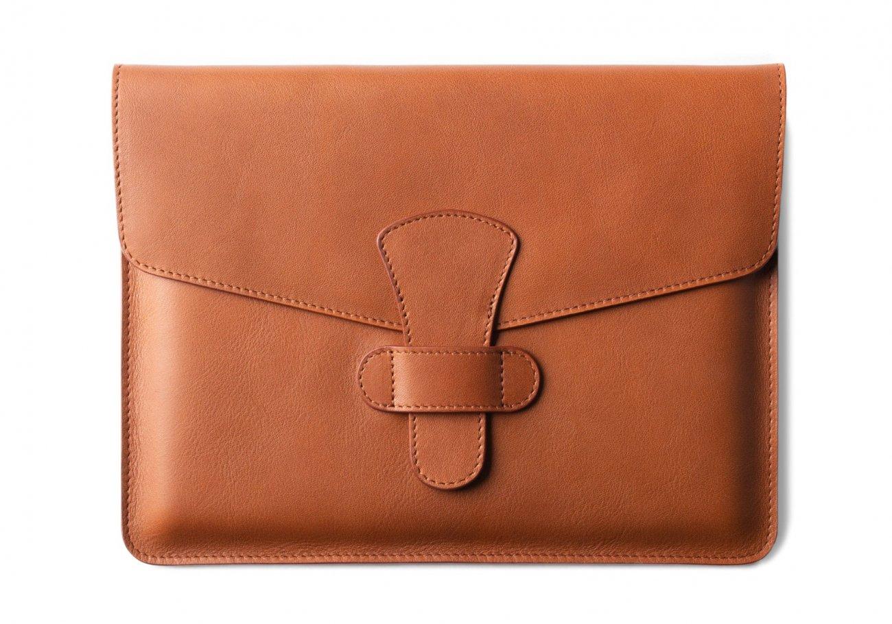 Leather Ipad Case Cognac 1 1