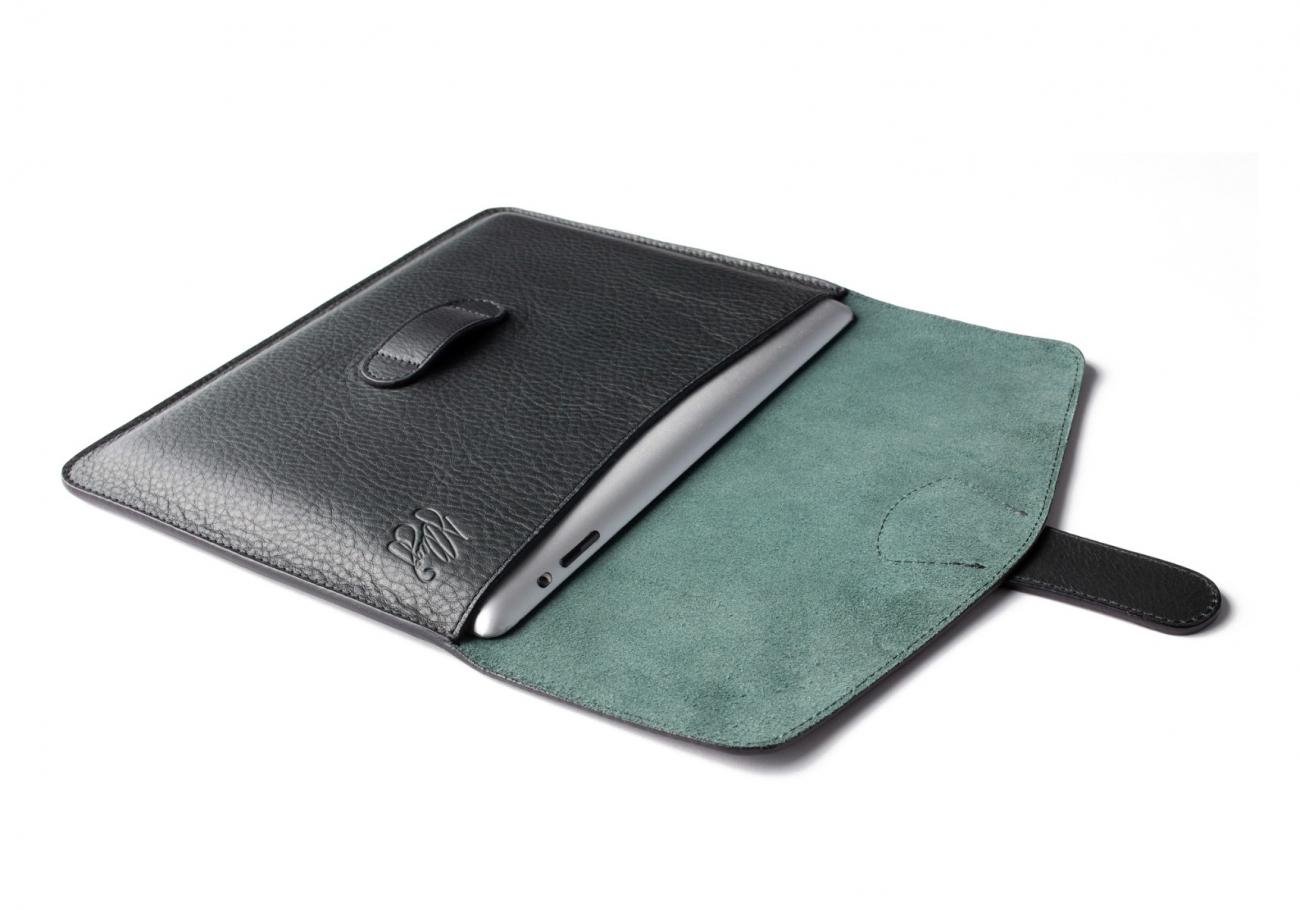 Leather Ipad Case Green 3 1