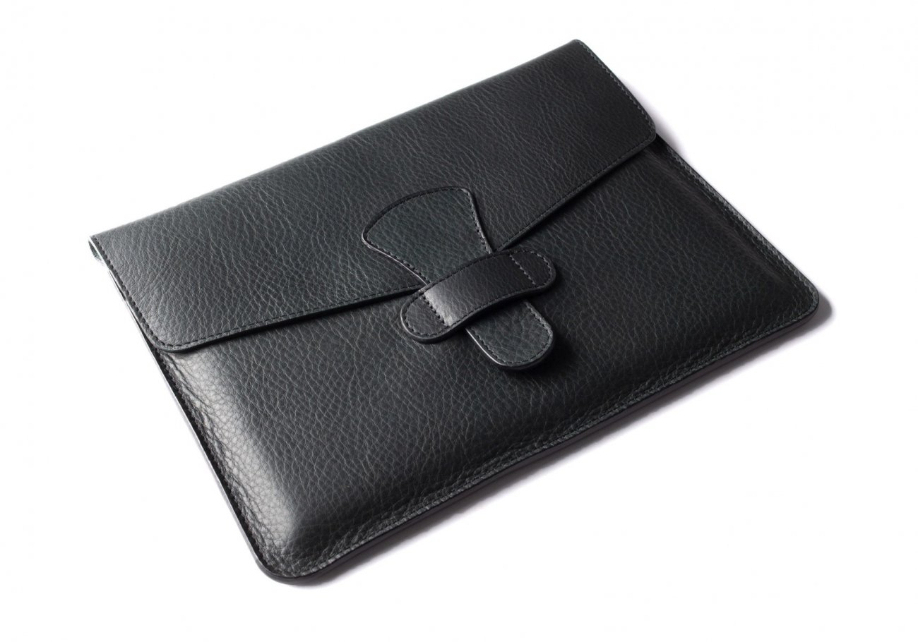 Leather Ipad Case Green 4 1