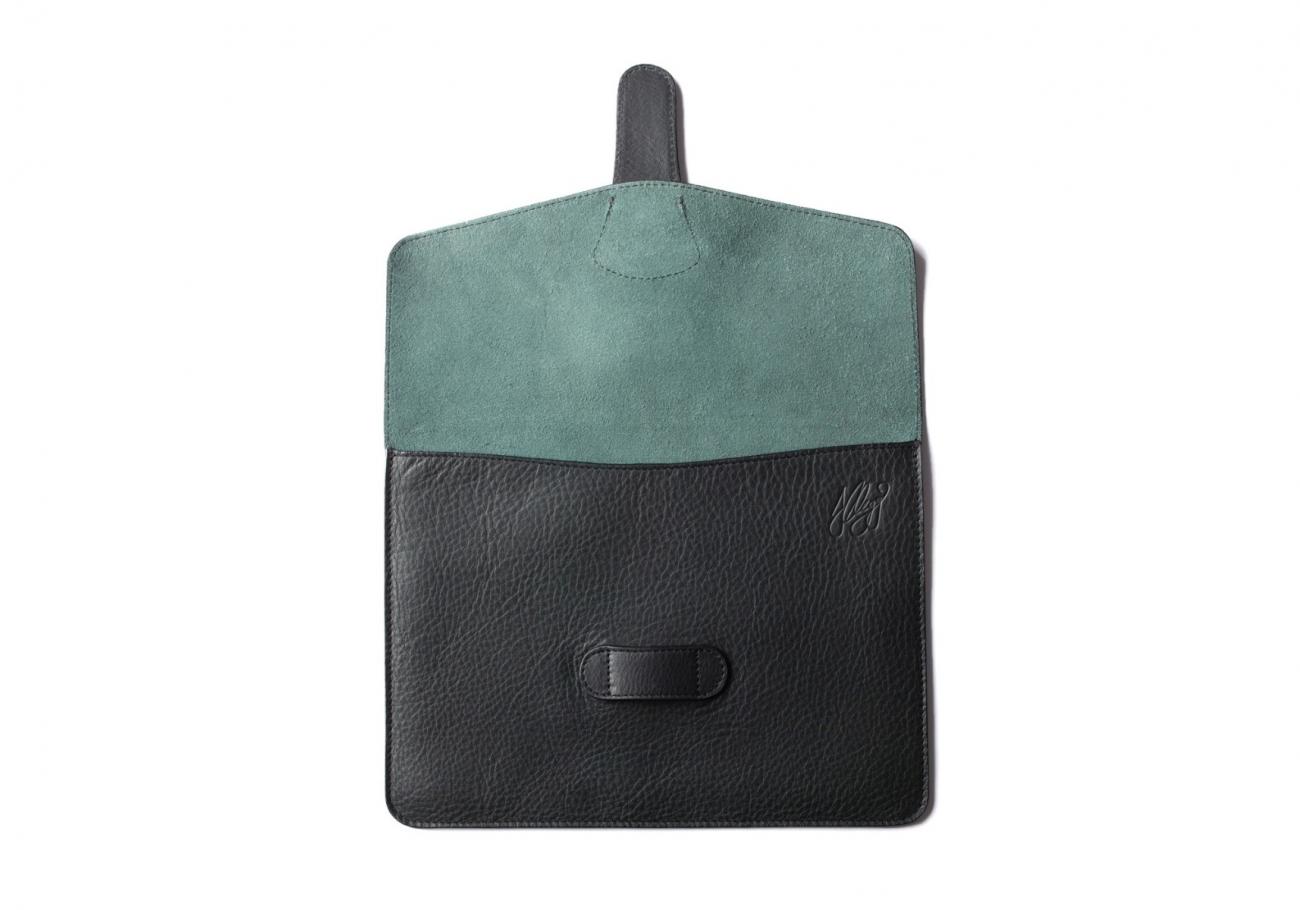 Leather Ipad Case Green 6 1