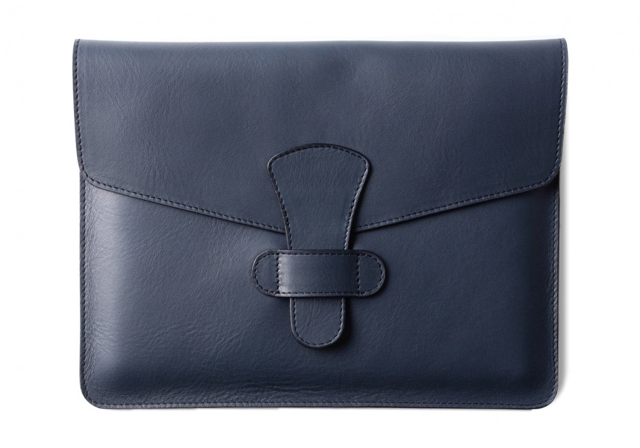 Leather Ipad Case Navy 1 1