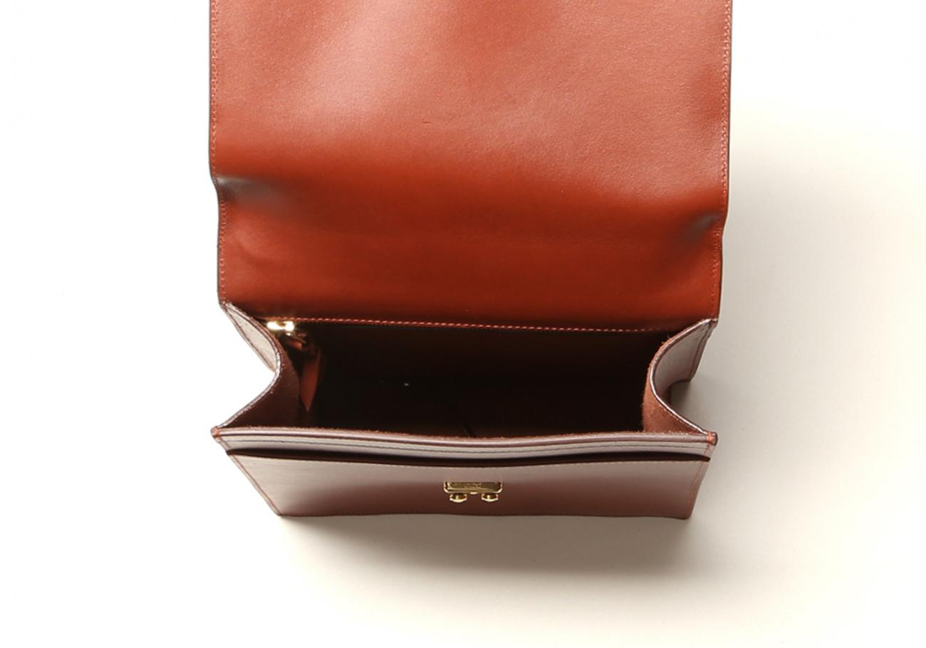 Locking Messenger Bag With Handle Chestnut6