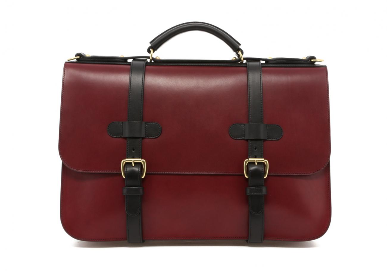 Maroon English Briefcase B