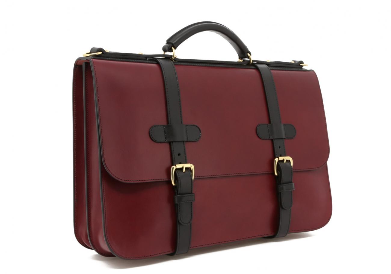 Maroon English Briefcase C