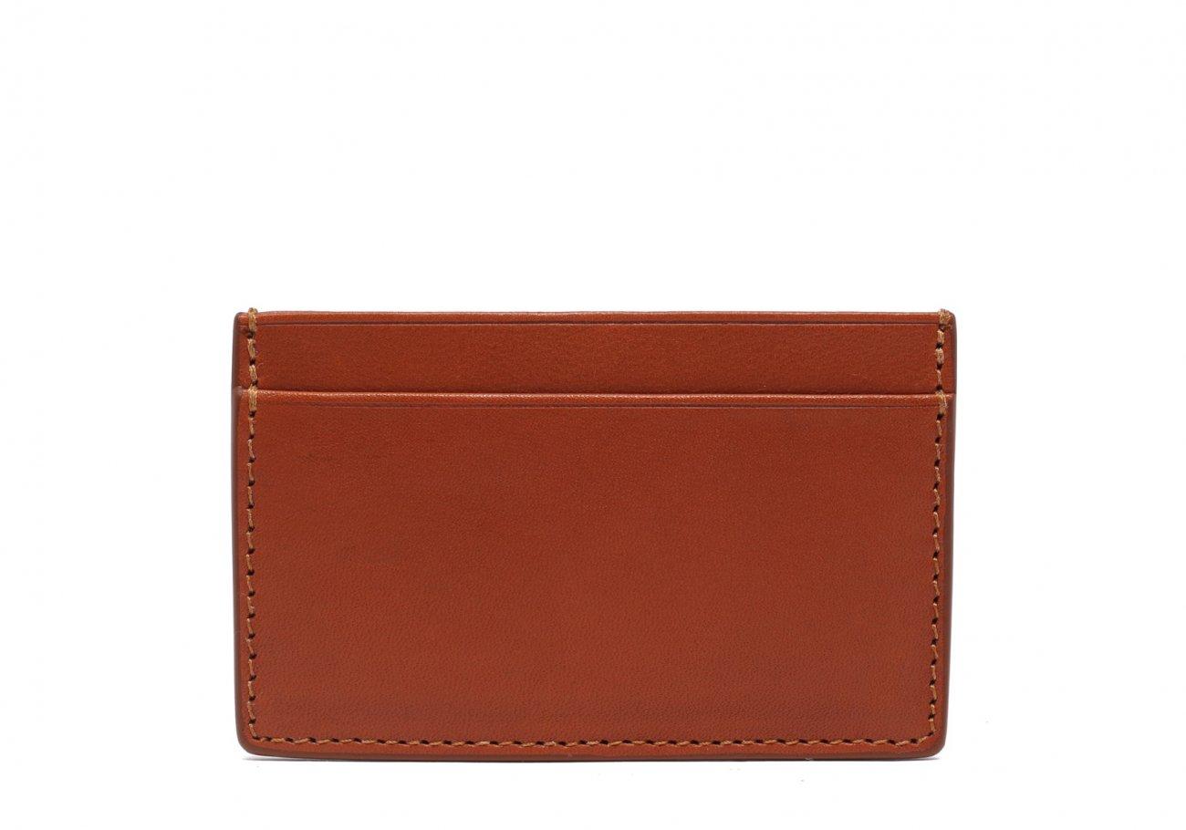 Mini Card Wallet Cognac