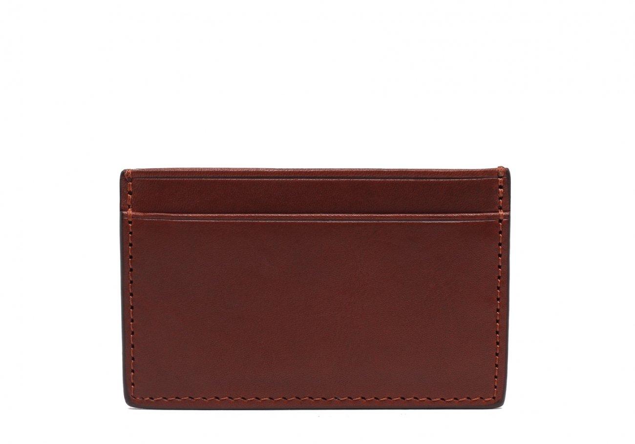Mini Card Wallet Chestnut