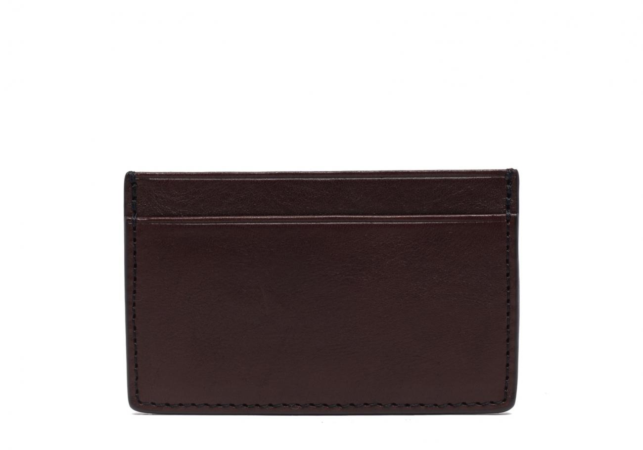 Mini Card Wallet Chocolate