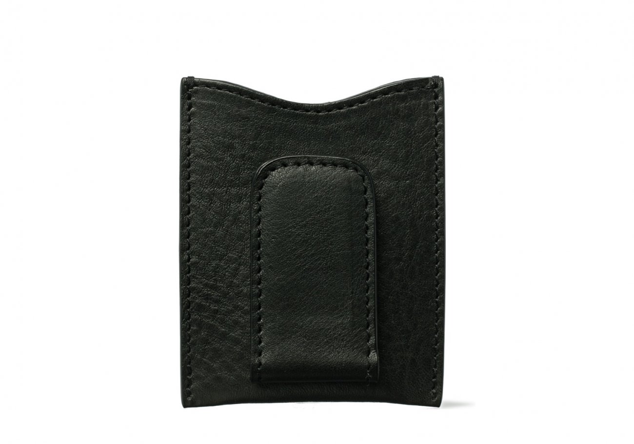 Money Clip Leather Wallet Green2 1