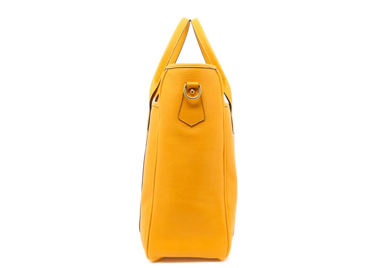 Mustard Commuter Tote D