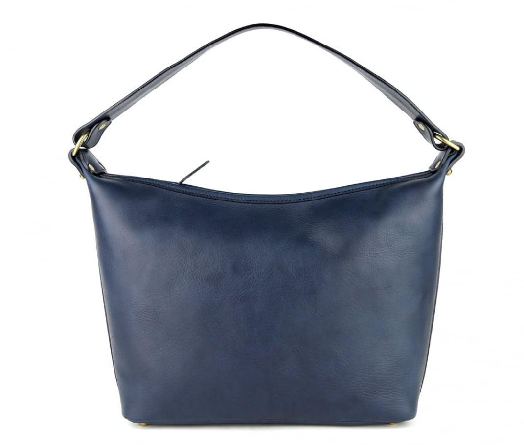 Navy Daisy Shoulder Bag Frank Clegg Made In Usa 1