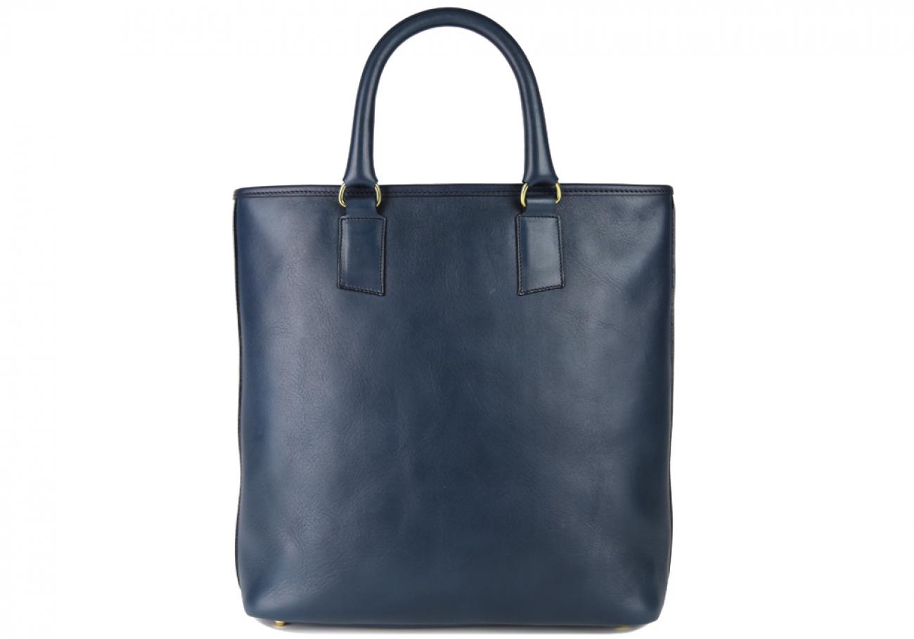 Navy Jackie Handbag Frank Clegg Made In Usa 1