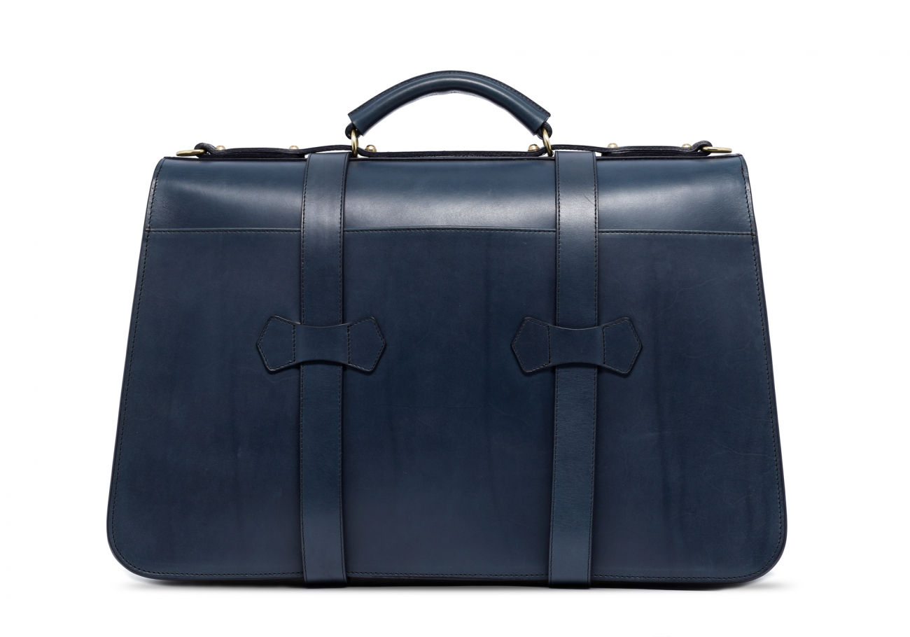Navy Lawyers Briefcase With Lock4