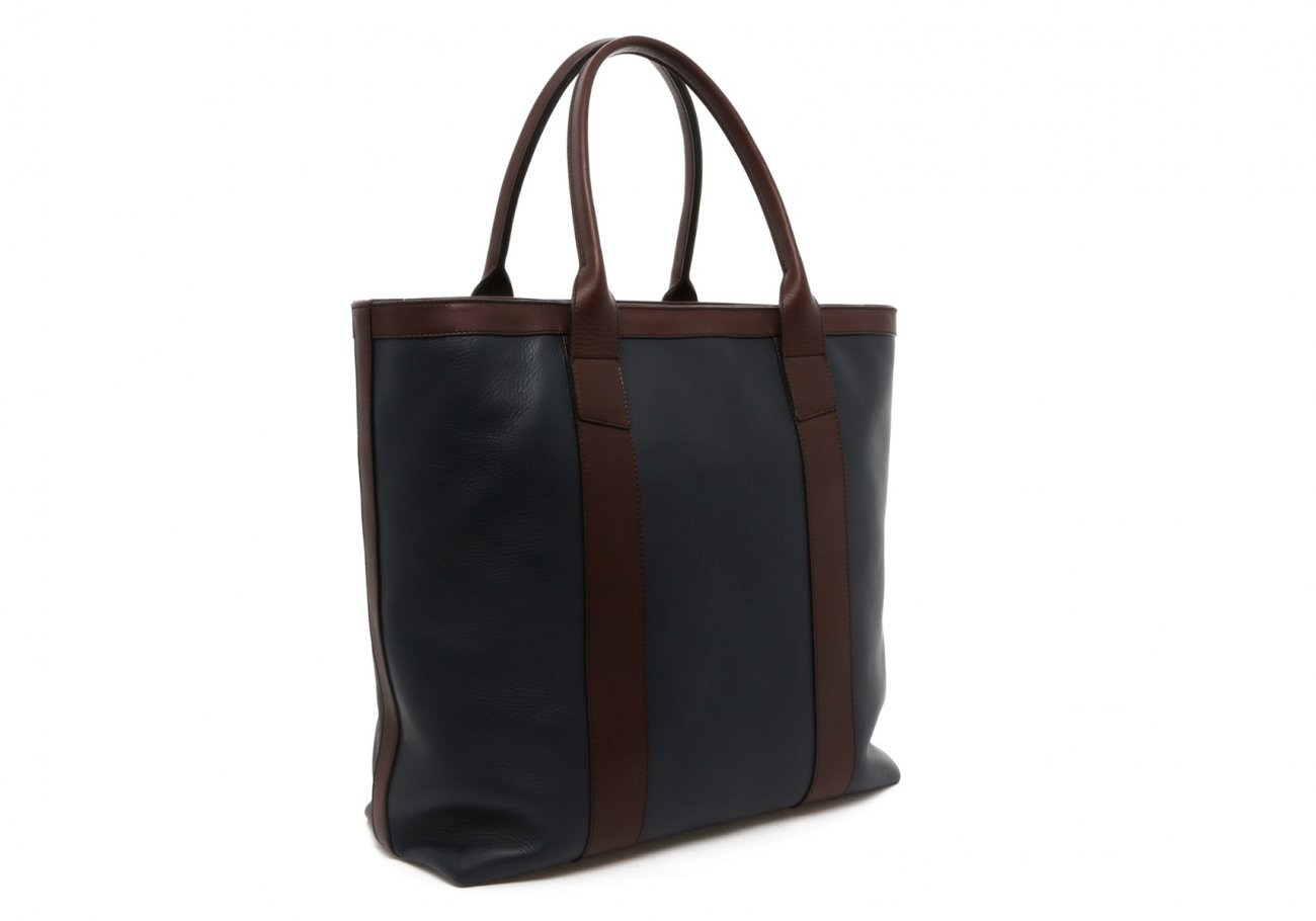 Navy Tall Tote C